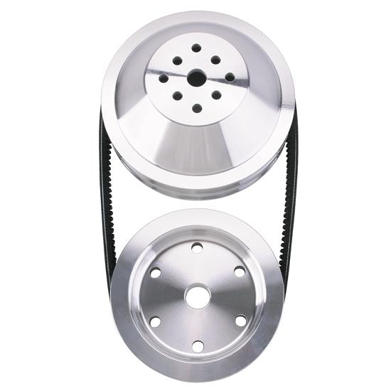 Speedway 1:1 Pulley Combo for Small Block Chevy Long Water Pump