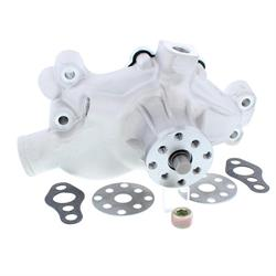 Speedway Small Block Chevy Short Aluminum Water Pump, Plain