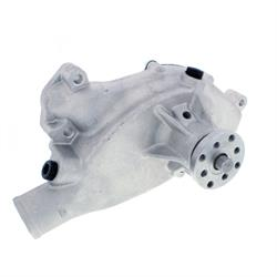 Chevy BBC 454 High Volume Aluminum Short Water Pump Satin