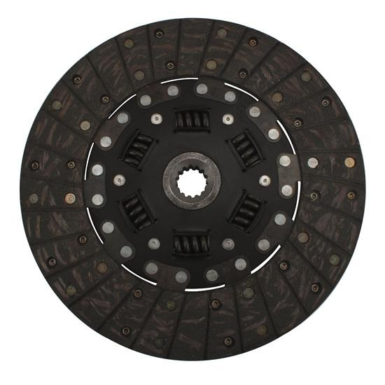 Flathead 10-1/2 In Clutch Disc, 1 In 14-Spline, S-10, T-5 Transmission