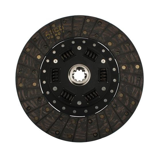 Flathead 10-1/2 In Clutch Disc, 1-1/8 In 10-Spline, GM, T-5 Trans