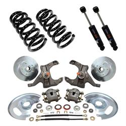 Complete Front Suspension Kit, 1963-70 Chevy C10