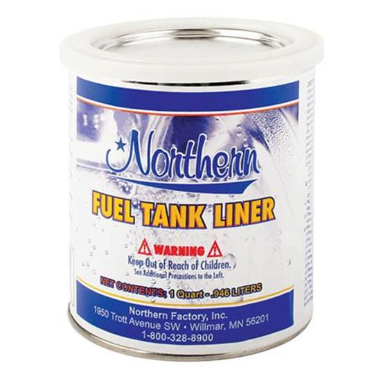Gas Fuel Tank Leak Repair Sealer, Quart