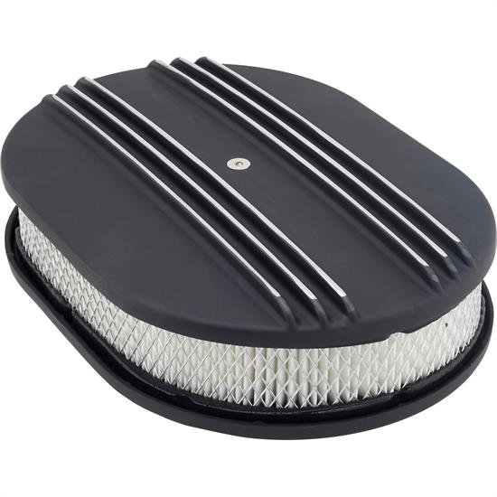 12 Inch Oval Double Finned Air Cleaner