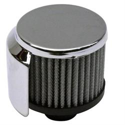 Push-In Valve Cover Breather With Shield