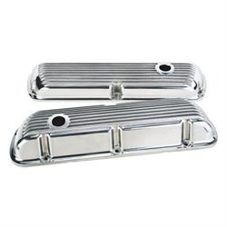 Small Block Ford Nostalgia Finned Valve Covers