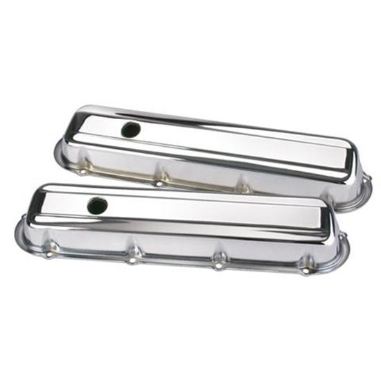 472-500 Cadillac Chrome Valve Covers