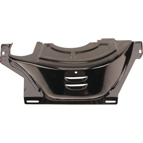 GM 700R4 Flywheel Flexplate Dust Cover Black Steel