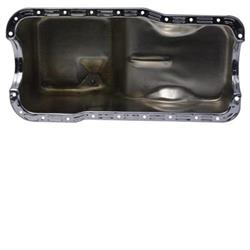 Fits Ford Small Block Speedway Motors Front Sump Chrome Oil Pan