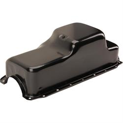 1971-1980 Small Block Mopar 360 Oil Pan, Center Sump, Black