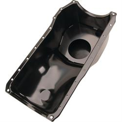 1970-1982 Small Block Ford 351C-351M-400 Oil Pan, Front Sump, Black