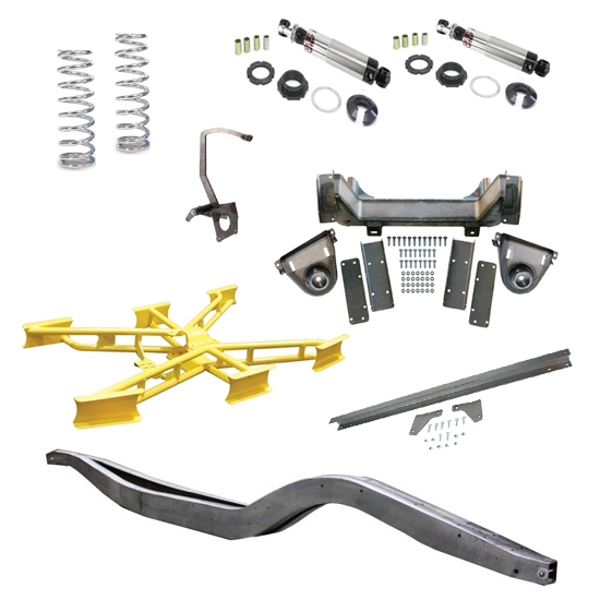 1935-40 Bolt Together Chassis Kit, MII-IFS & Coil-Over Rear Suspension