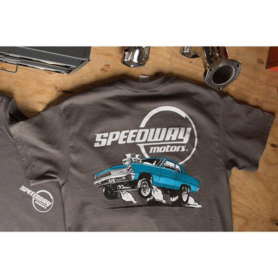 Evil Wicked Mean And Nasty Supercharged Hot Street Rod T-Shirt