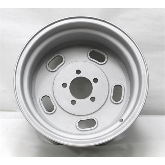 Garage Sale - Circle Racing Raw Billet Kidney Bean Gasser II Wheel, 15x10, 5 on 4.5