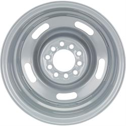"GM Rally Dual Pattern Set, 4.5""-4.75"" Silver 15x7"