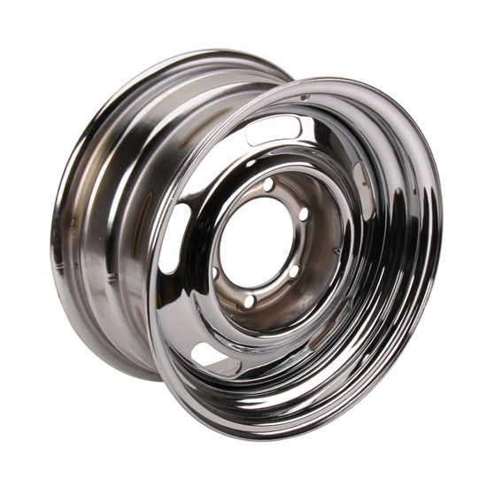 Speedway Gm Style 15 Inch Rally Wheel 6 On 5 12 Inch