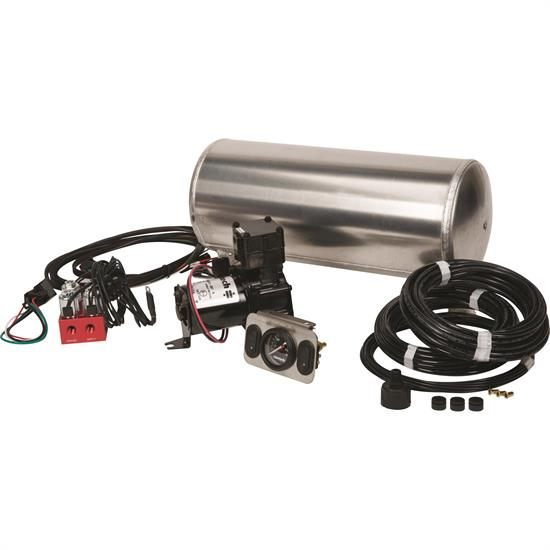 RideTech 30142000 Air Ride Compressor RidePro 2-Way, 4-Wheel System