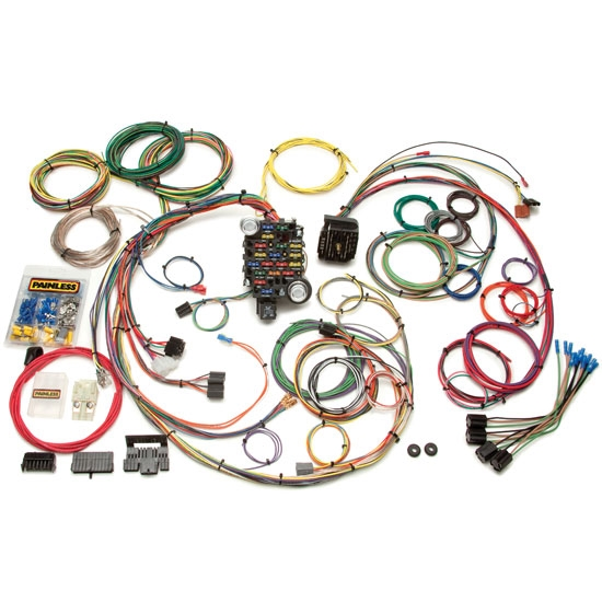 painless 20102 1969 1974 gm muscle car 25 circuit wiring harness 69 Chevelle Fuel Tank