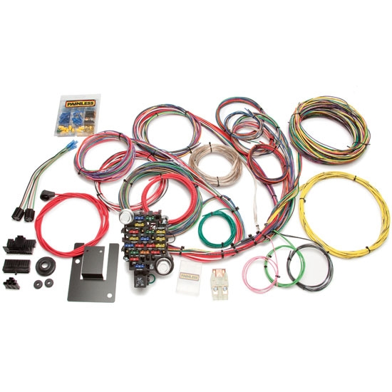painless wiring 20106 1955 57 chevy 28 circuit wiring harness rh speedwaymotors com