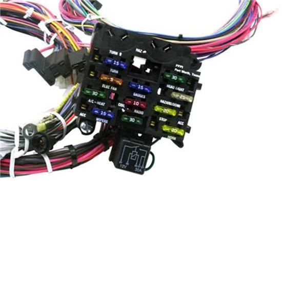 painless 20110 1966 1967 chevy ii nova 21 circuit wiring harness ebay rh ebay com Painless Wiring Harness Chevy Truck Painless Wiring Harness Kit