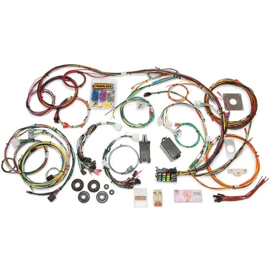 painless wiring 20120 1964 1966 mustang 22 circuit wiring harness 1970 Mustang Wire Harness