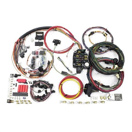 painless wiring 20128 26 circuit wiring harness 1968 chevelle malibu rh speedwaymotors com