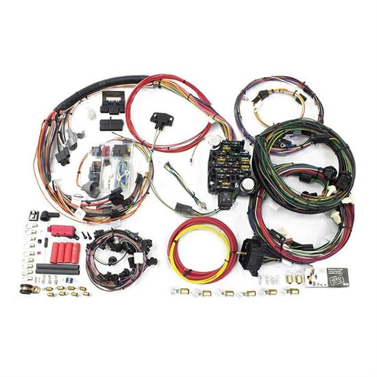 painless wiring 20129 26 circuit wiring harness, 1969 chevelle/malibu  speedway motors