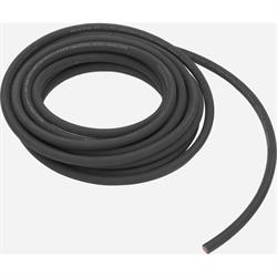 Black Welding Cable - Battery Cable, 25 Foot, 2ga