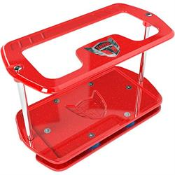 Savior Products SC-27-R Show Case Battery Box, Series 27, Red