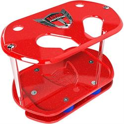 Savior Products SC-O34-R Show Case Battery Box, Optima 34, Red
