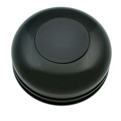 GT Performance 21-1020 GT3 Standard Plain Horn Button Black Anodized