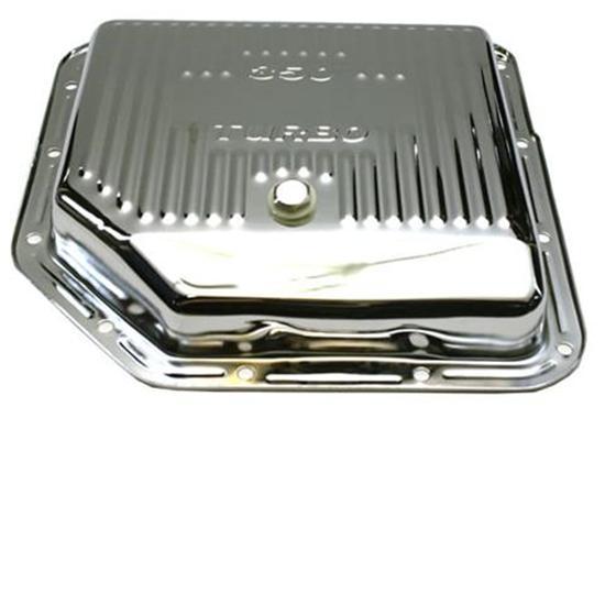 Th350 Transmission Pan Chrome Steel