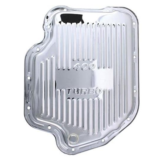 Extra Capacity TH400 GM Chevy Turbo 400 Chrome Automatic Transmission Deep Pan