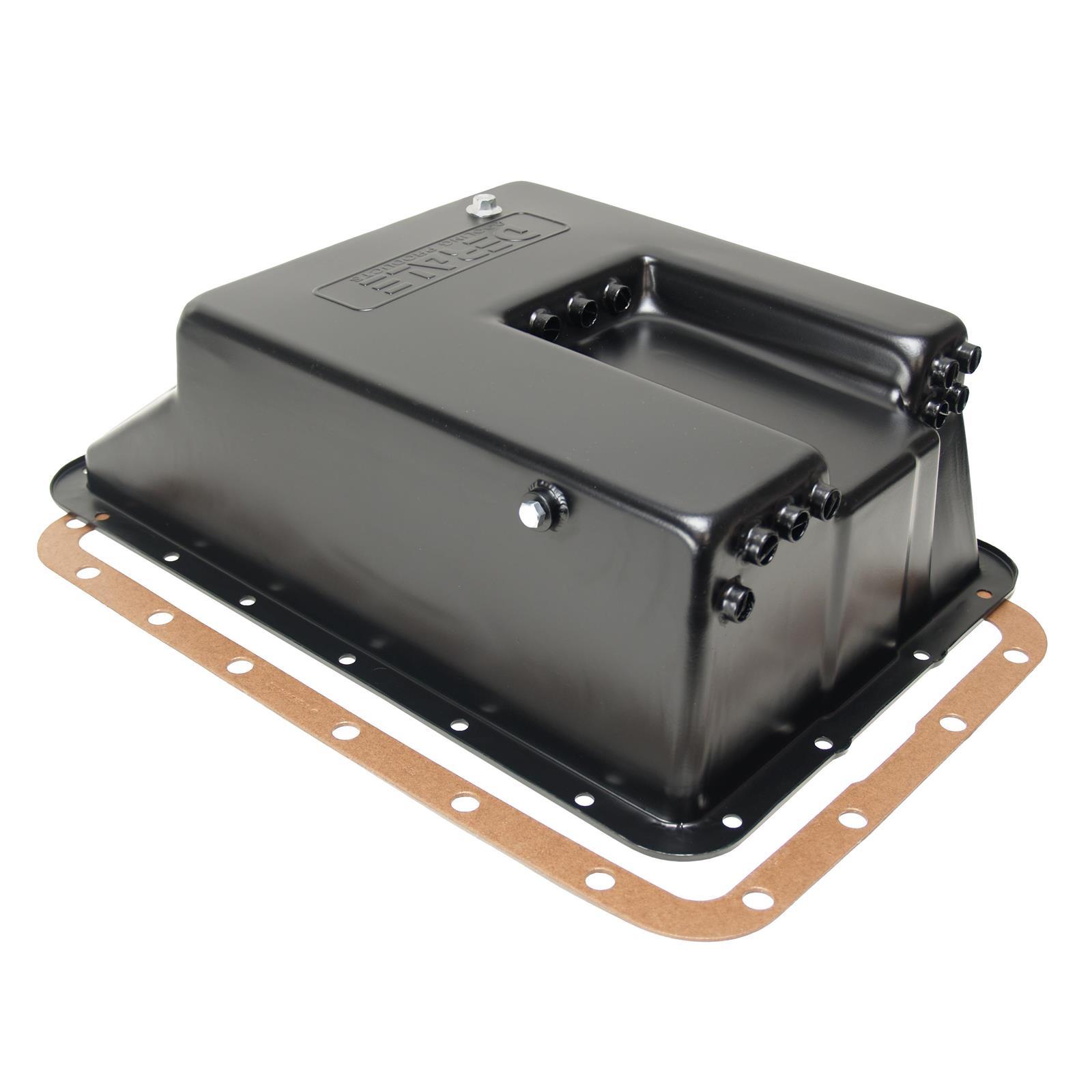 Derale 14208 Ford E4od Transmission Cooling Pan Aod Cooler Lines