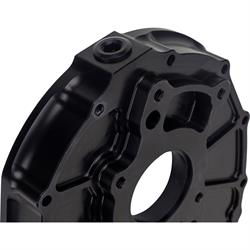 KSE KSD1003HB Aluminum Front Cover - Raised Cam Position, Black