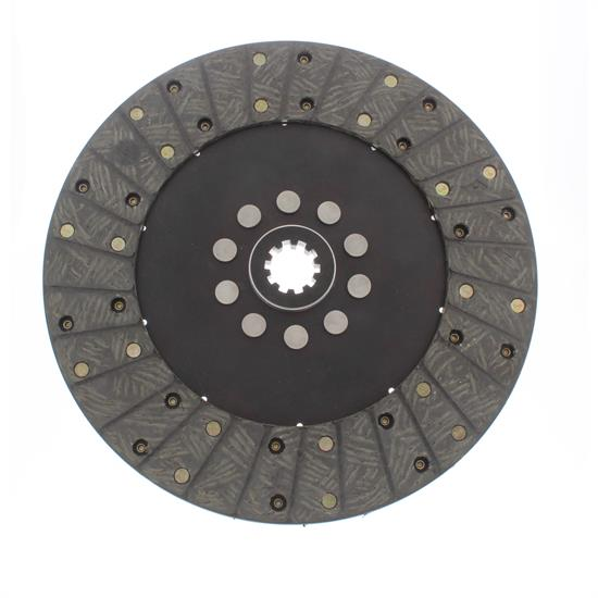 Ace Mfg. 10-1/2 In GM Organic Clutch Disc, Solid Hub, 1-1/8 10-Spline