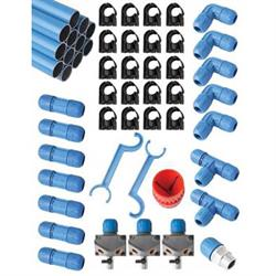 RapidAir F28100 1 Inch Fast Pipe Air Kit, 100 Foot