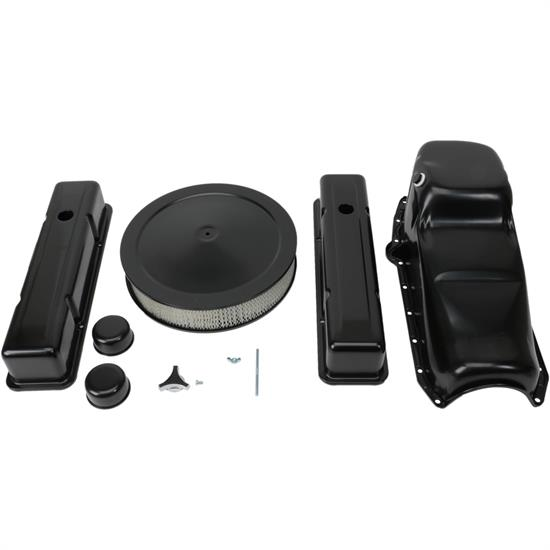 Speedway Engine Combo Kit, SBC, Black