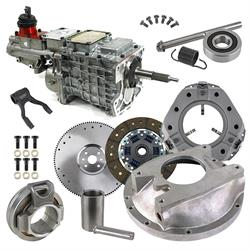 Tremec GM TKO 5-Speed to 1949-53 Ford Flathead Engine Conversion Kit