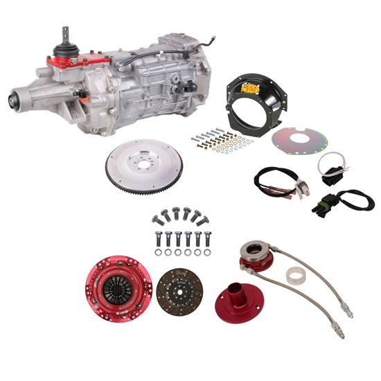Speedway Motors SBC Transmission Kit, 6-Speed, Tremec T56, 700 HP