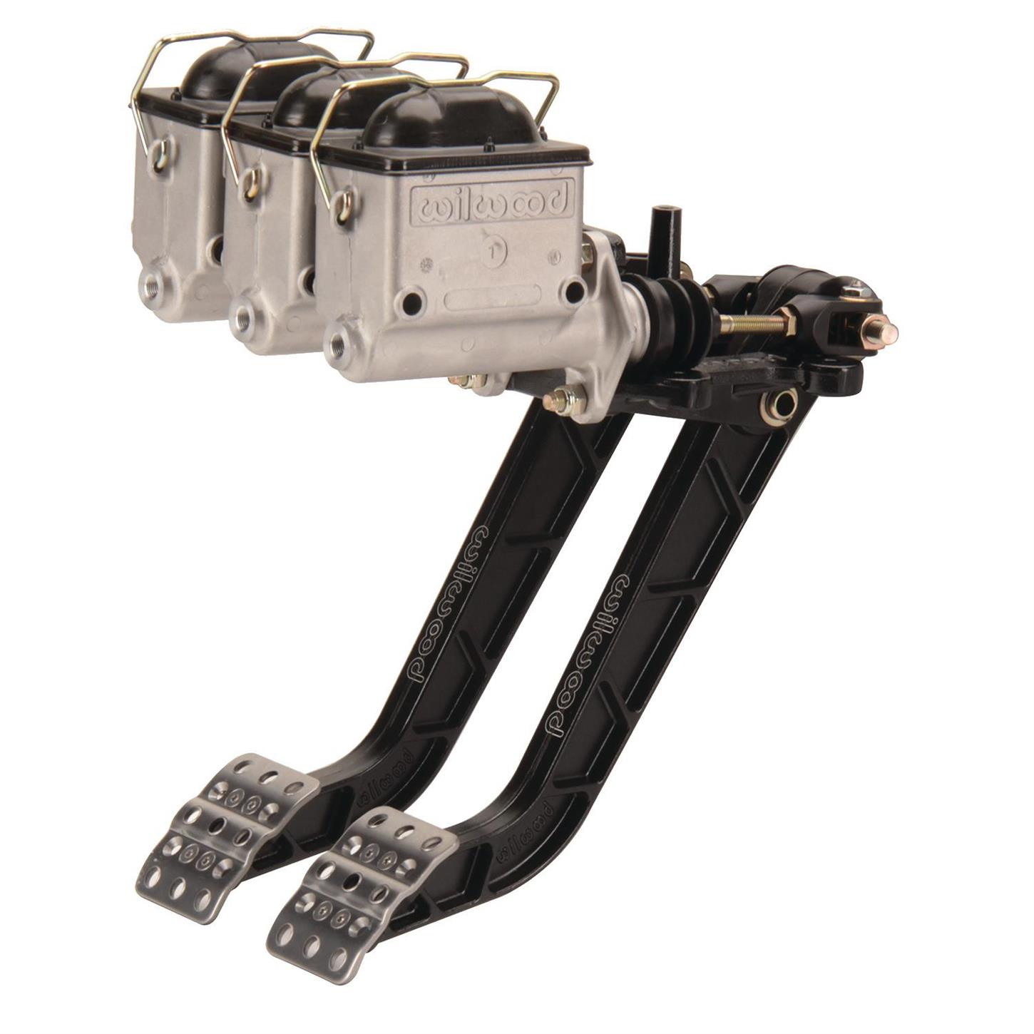 1 Ratio Reverse Mount Dual Master Cylinder Pedals 6.25