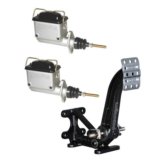 Wilwood Dual Master Cylinder Floor Mount Pedal Assembly
