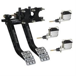 Wilwood Reverse Swing Triple Master Cylinder Pedal, 5.1:1