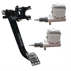 Speedway 6.25:1 Dual Reverse Mount Master Cylinder Brake Pedal Kit