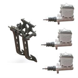AFCO 6.25:1 Reverse Mount Brake/Clutch Pedal/Master Cylinder Kit