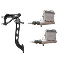 AFCO 7:1 Brake Pedal/Dual Master Cylinder Kit