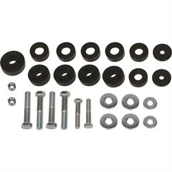 Solid Aluminum Body Mount Bushing Kit