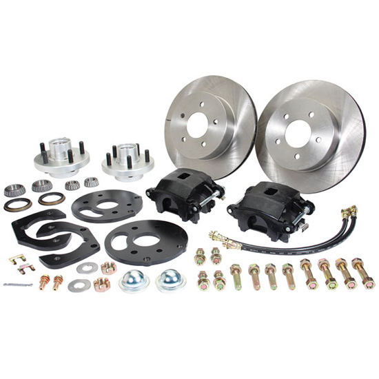 CPP 4953WBK-S 1949-53 Ford Car Front Disc Brake Kit