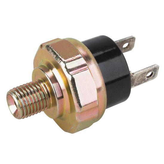 Brake light switch for inverted flare