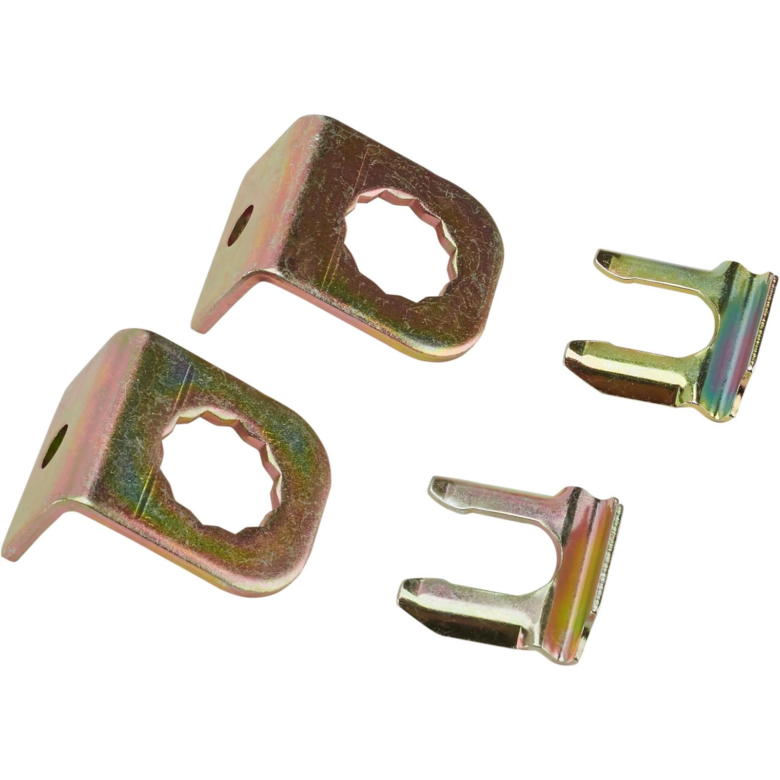 """3//16/"""" Brake Line Clip Set Steel with Rubber Insulation Pack of 10"""